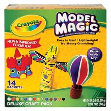 <strong>Crayola LLC</strong> Model Magic Deluxe Craft Pack