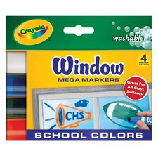 Washable Window Mega School Marker Sets