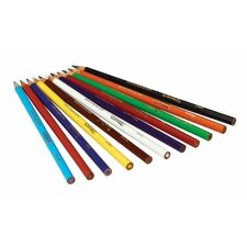 Long Colored Pencils (Set of 12)
