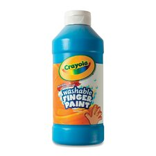 <strong>Crayola LLC</strong> Washable Finger Paint (Set of 12)