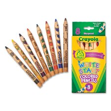 <strong>Crayola LLC</strong> Write Start Colored Pencils (Set of 8)