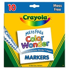 <strong>Crayola LLC</strong> Color Wonder Marker (10 Pack)