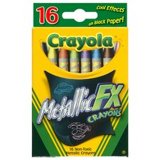Metallic FX Crayon (16 Count)