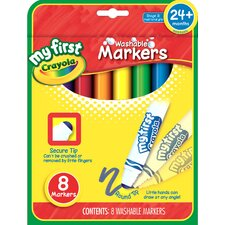 <strong>Crayola LLC</strong> Washable Marker (8 Count)