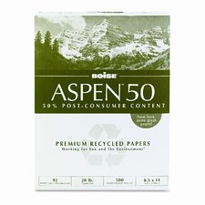 Aspen 92 Bright 50% Recycled Office Paper (5000/Carton)