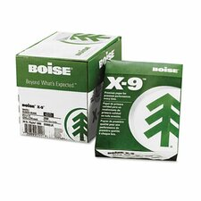 X-9 Copy Paper, 92 Brightness, 20 lb, 8-1/2 X11, 2500 Sheets/Carton