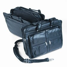 <strong>Bond Street, LTD.</strong> Bond Street, Ltd. Tech-Rite® Lambtouch Leather-Loo Laptop Briefcase