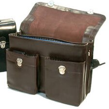 <strong>Bond Street, LTD.</strong> Large Executive Leather Laptop Briefcase
