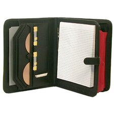 Deluxe Leather-Look Writing Pad and File Holder