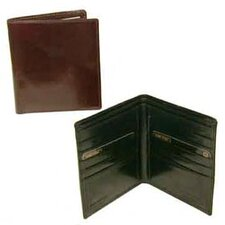 Hand Stained Italian Leather Executive Hipster Wallet