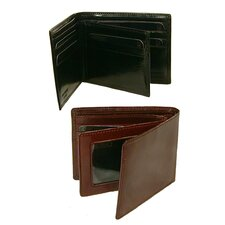 Classic Billfold Wallet with Wing