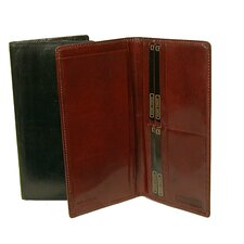 Breast Pocket Secretary Wallet with Checkbook Accommodation