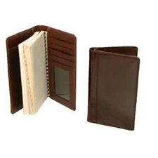 Hand Stained Italian Leather Pocket Agenda
