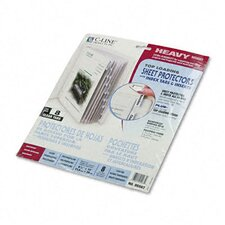 Polypropylene Sheet Protectors with Index Tabs (8/Set)