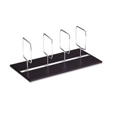 "C-Line® Adjustable Book Tray® Four-Section Adjustable 1.3"" Bookcase"