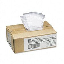 Write-On Recloseable Poly Small Parts Bags, 2 X 3 (1000/Carton)