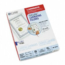 C-Line Quick Cover Laminating Folders (25/Pack)