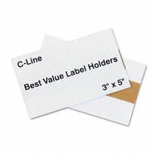 Label Holders, 5 X 3 (50/Pack)