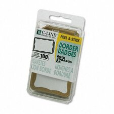 Self-Adhesive Name Badge (100/Box)