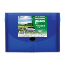 <strong>C-Line Products, Inc.</strong> 13-Pocket Biodegradable Expanding File, Letter