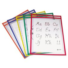 Reusable Dry Erase Pocket (25 Pack)