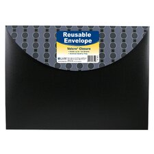 Reusable Envelope with Velcro Closure