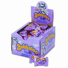 Bubbaloo Bubble Gum with Liquid Center, Individually Wrapped Pieces (60/Box)