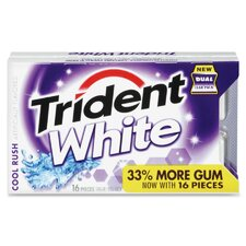 Trident White Gum (Set of 9)