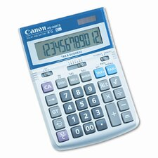 HS-1200TS Compact Desktop Calculator, 12-Digit LCD