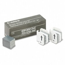 0251A001AA Staples for Canon IR550/600/6045/Others, 3 Cartridges, 15,000 Staples per Pack