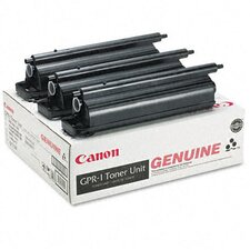 1390A003AA (GPR-1)Toner Cartridge, 3/Carton, Black