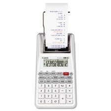 <strong>Canon</strong> P1-DHVG One-Color 12-Digit Printing Calculator, White