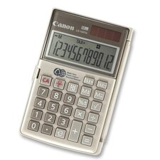 "Handheld Calculator, 12-Digit, Dual Power, 3-1/8""x4-3/4""x5/8"""