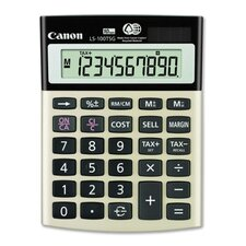 10-Digit Calculator, Dual PoWhiter
