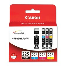 <strong>Canon</strong> Ink Cartridges, Black, Cyan, Magenta, Yellow