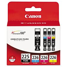 <strong>Canon</strong> Pgi-225 Ink Tank (4/Pack)