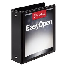 "3"" Easy Open ClearVue Locking Round Ring Binder (Set of 6)"