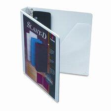 Clearvue Premium Slant-D Presentation Binder
