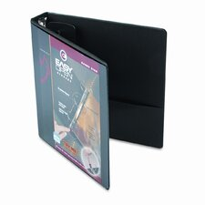 "Easyopen Clearvue Locking Round Ring Binder, 1.5"" Capacity"