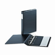 "Heavyweight Vinyl Slant-D 4-Ring Binder with Label Holder, 2"" Capacity"