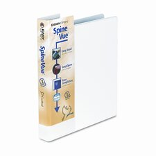 "Spinevue Easyopen Locking Slant-D Ring Binder, 1"" Capacity"