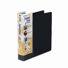 Spinevue EasyOpen Locking Slant-D Ring Binder, 1-1/2in Capacity