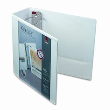 Clearvue Xtralife Slant-D Presentation Binder, 4in Capacity