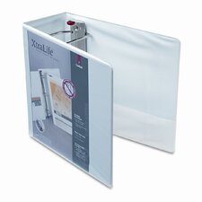 Clearvue Xtralife Slant-D Presentation Binder, 5in Capacity