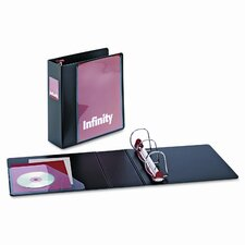 "Infinity Clearvue Locking Slant-D Ring Binder, 3"" Capacity"