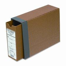 "Globe-Weis Recycled Fiberboard Binding Case, 11 x 8.5, 2.5"" Capacity"