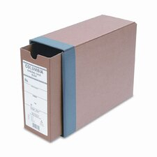 "Globe-Weis Recycled Fiberboard Binding Case, 11 x 8.5, 3-1/8"" Capacity"