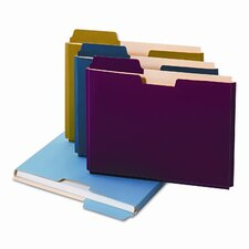 <strong>Cardinal Brands, Inc</strong> Globe-Weis Expanding File Folder Pocket, Letter, 11 Point Stock (10/Pack)