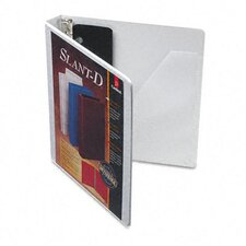 "1"" Super Strength ClearVue Locking Slant D Ring Binder (Set of 12)"