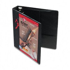 "Recycled Clearvue Easyopen D-Ring Presentation Binder, 1.5"" Capacity"
